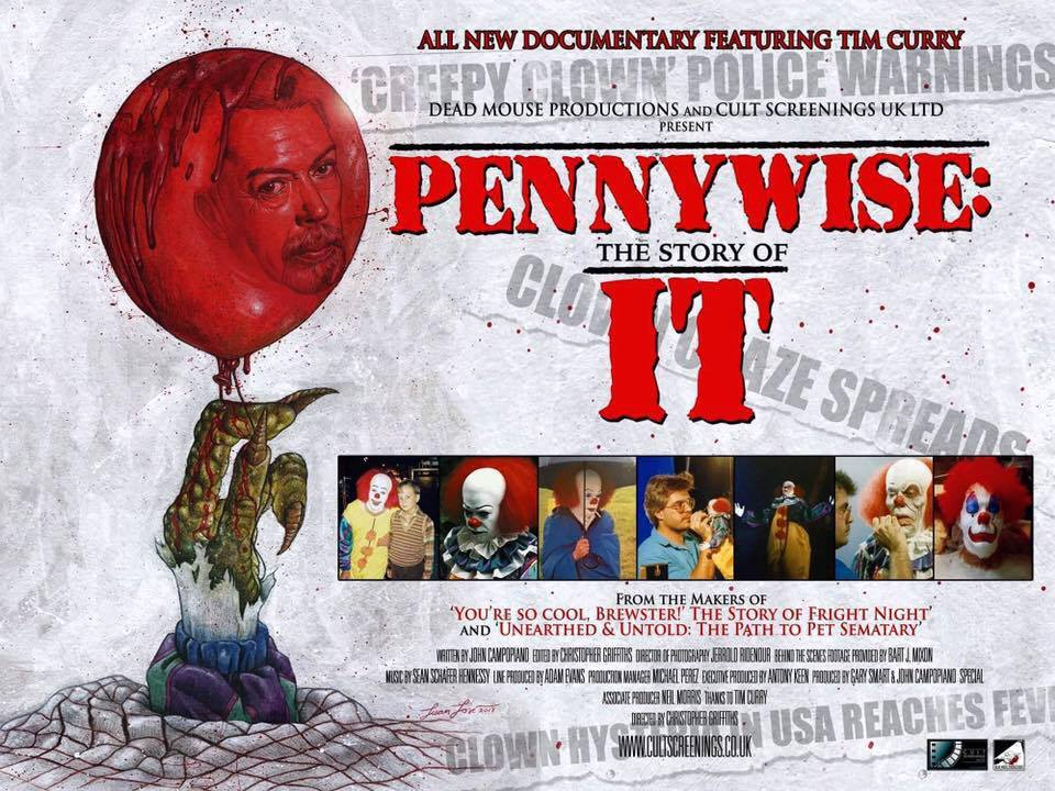 pennywise the story of it - Exclusive: John Campopiano on Pennywise: The Story of IT