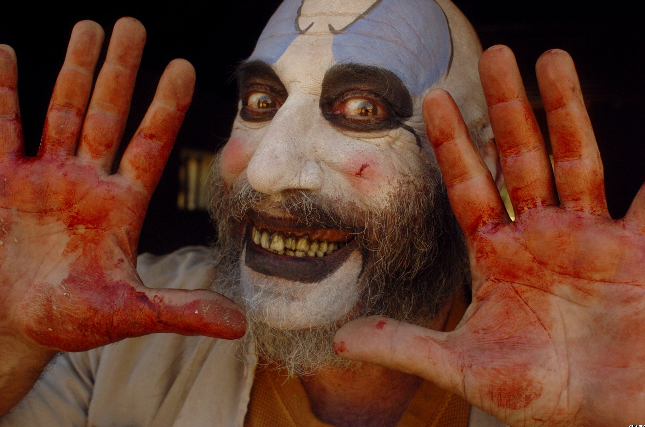 sidhaigcaptainspauldingbanner - Sid Haig Married a Couple at This Year's Mad Monster Party Dressed as Captain Spaulding