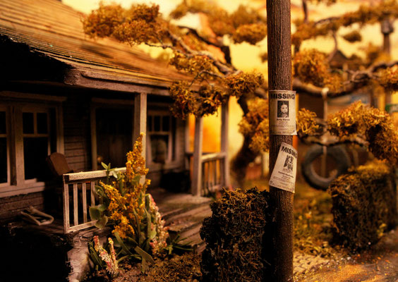 stephenkingdiorama6 - Derry, the Town From Stephen King's It, Has Been Recreated in a Stunning Model