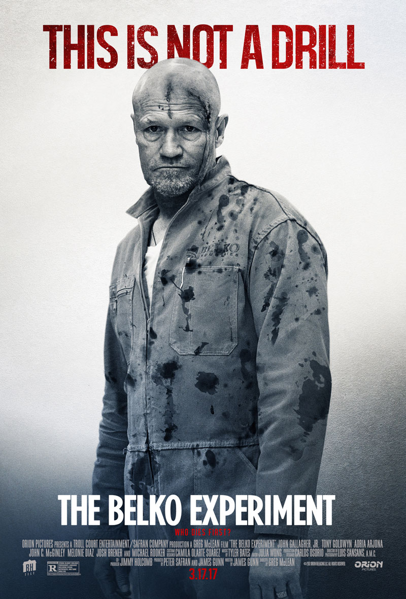 tbe rooker - Michael Rooker on The Belko Experiment