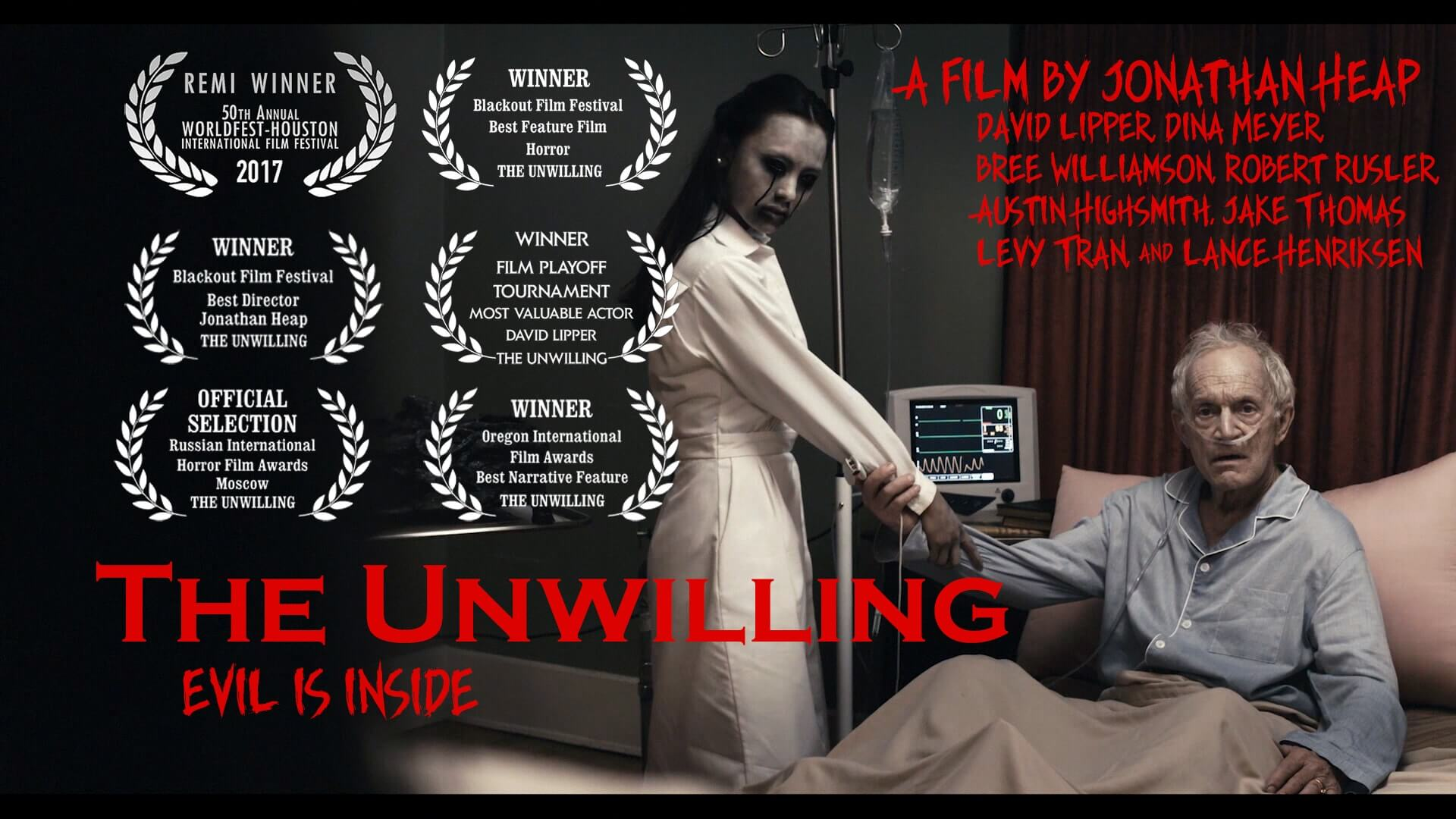 the unwilling new poster 1 - The Unwilling to Play at Monsterpalooza; New images Unveiled