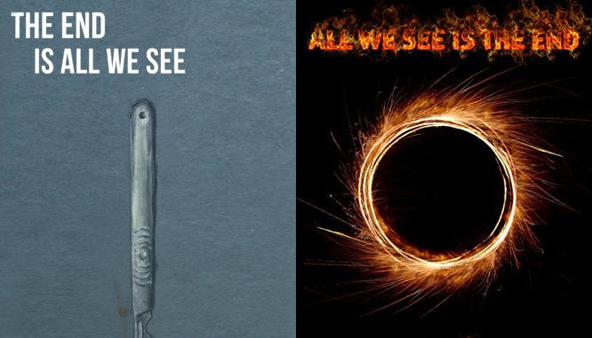 theendisall allweseeis s - M.F. Wahl and A.J. Brown Release Joint Novelette with Two Formats and Titles to Choose From