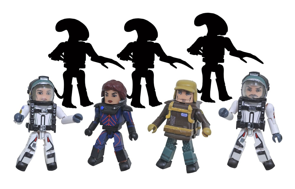 AlienCovenantMinimates - Diamond Select Announces New Alien: Covenant, The Dark Tower, and The Nightmare Before Christmas Figures for Fall 2017