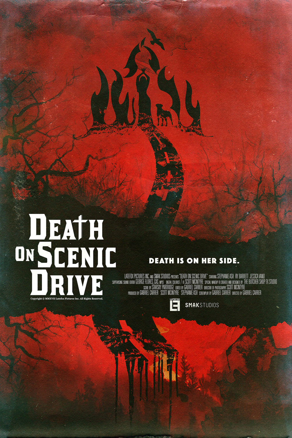 DEATH 24X36 01 - Exclusive Early Look at Three New Death on Scenic Drive Posters