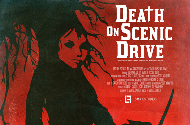DEATH 24X36 02 s - Exclusive Early Look at Three New Death on Scenic Drive Posters