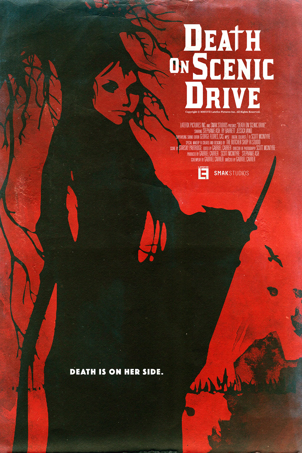 DEATH 24X36 02 - Exclusive Early Look at Three New Death on Scenic Drive Posters
