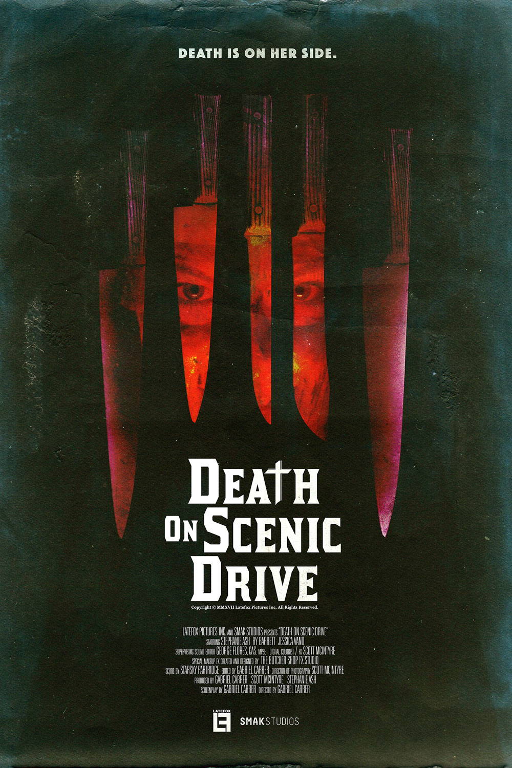 DEATH 24X36 03 - Exclusive Early Look at Three New Death on Scenic Drive Posters