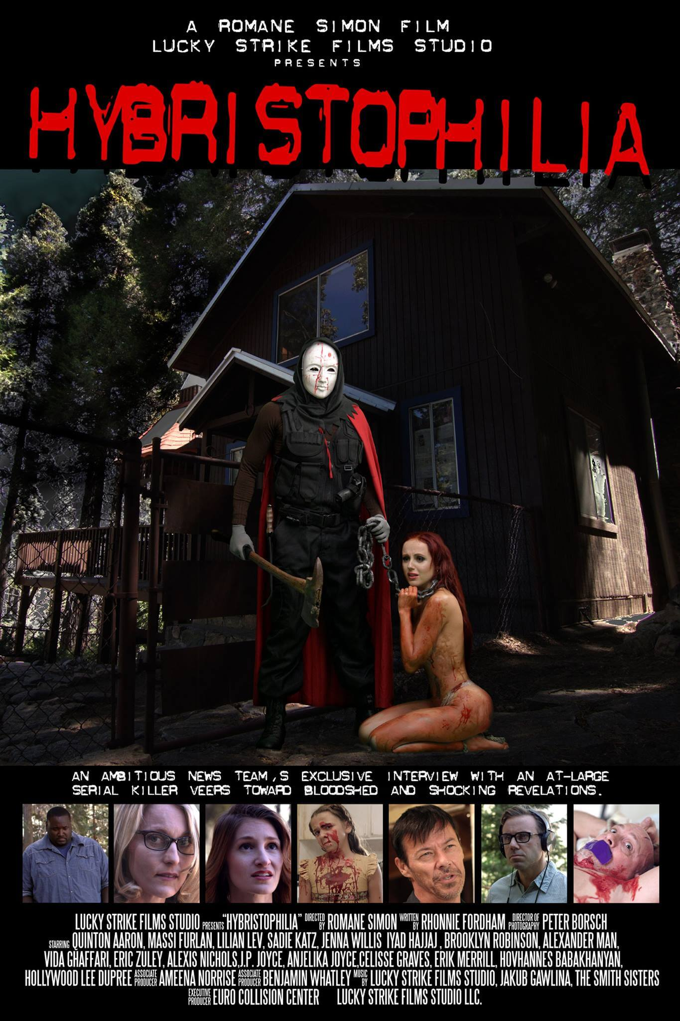 Hybristophilia 1 - The Blind Side's Quinton Aaron Stars in the Trailer For Hybristophilia