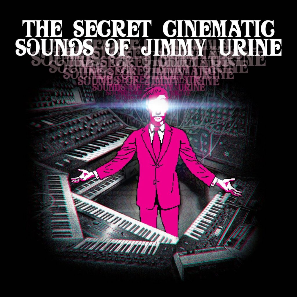 Secret Cinematic Sounds album cover 1024x1024 - Interview: Jimmy Urine Talks His New Solo Album, His First Horror Memory, and What He Loves That No Else Seems to Know Of