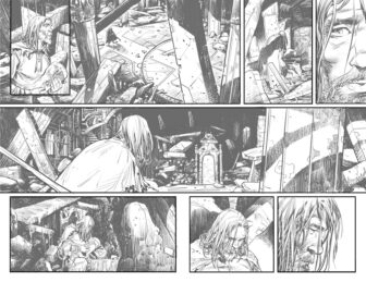 UG Page 4 and 5 336x259 - New Cullen Bunn Comic Series Unholy Grail Begins in July