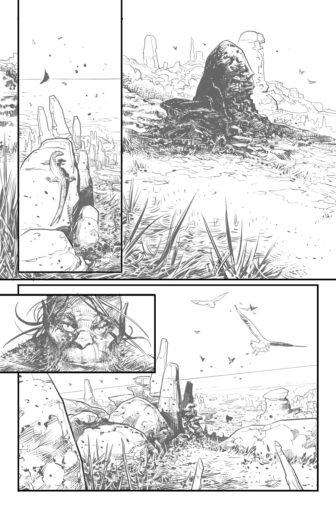 UG Page6 336x510 - New Cullen Bunn Comic Series Unholy Grail Begins in July