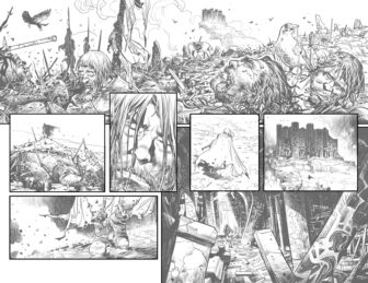 UG Pages 2 and 3 336x259 - New Cullen Bunn Comic Series Unholy Grail Begins in July