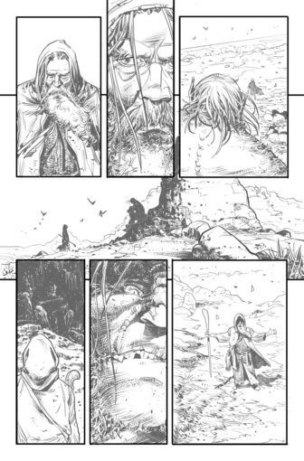 UG page7 336x510 - New Cullen Bunn Comic Series Unholy Grail Begins in July
