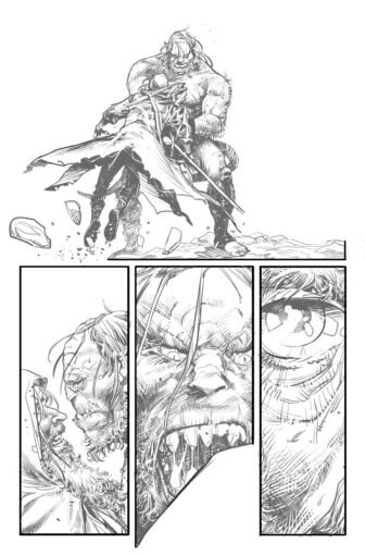 UG page8 336x510 - New Cullen Bunn Comic Series Unholy Grail Begins in July