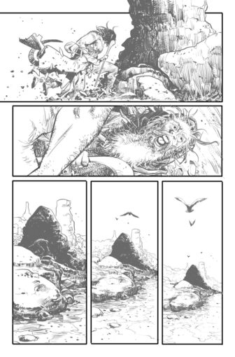 UG page9 336x510 - New Cullen Bunn Comic Series Unholy Grail Begins in July