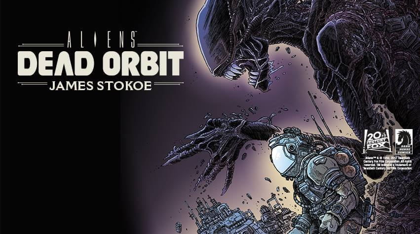 alien dead orbit4 1 - Dark Horse Releases Tons of New Alien Comics to Celebrate Alien Day