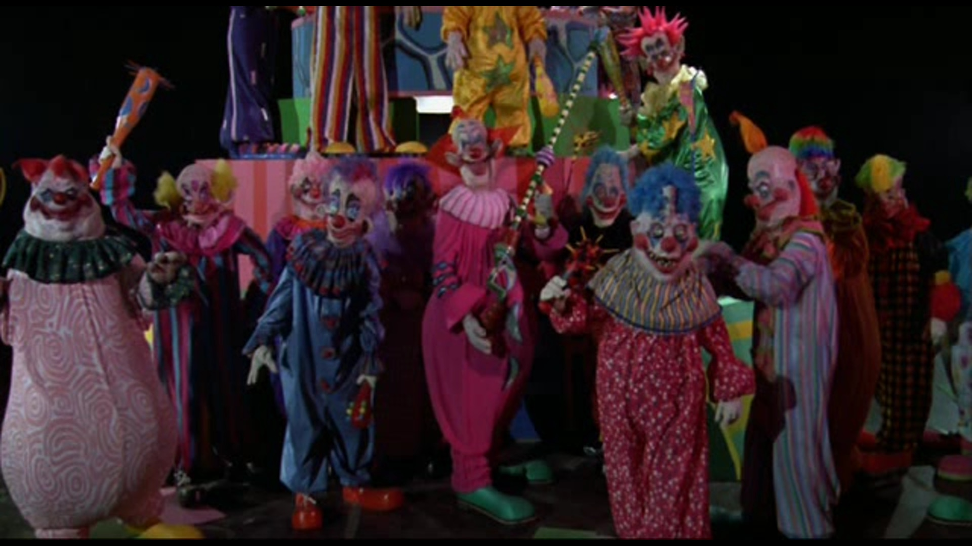 Killer klowns from outer space score being rerecorded with for Killer klowns 2