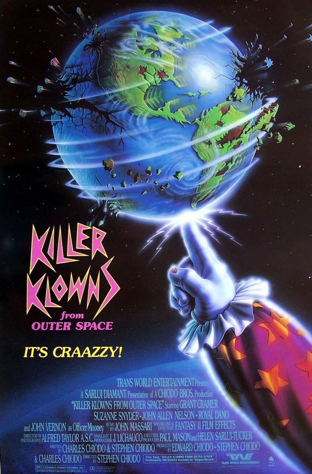 Killer klowns from outer space score being rerecorded with for Outer space studios