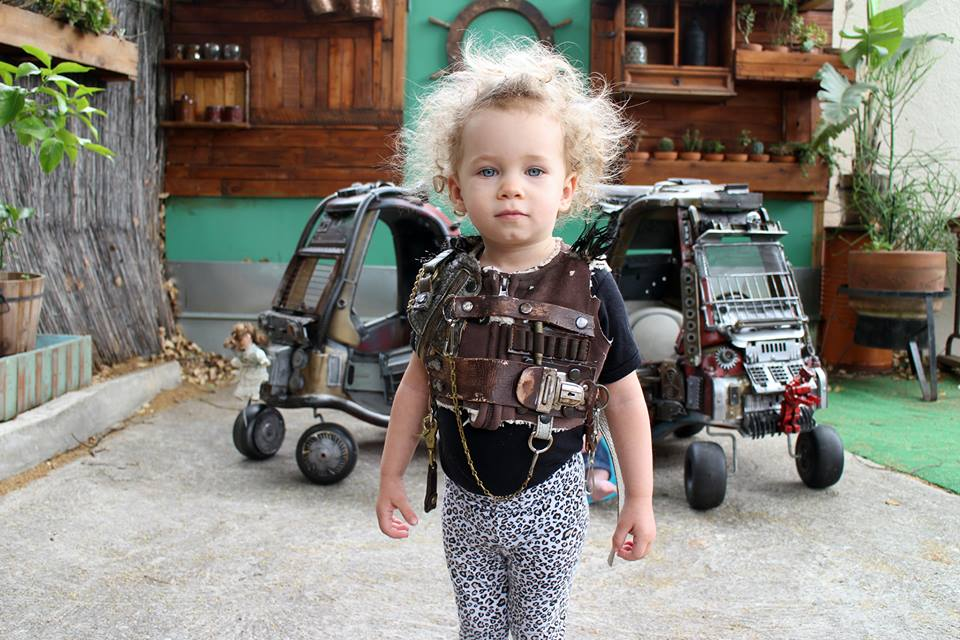 madmaxchildbanner - Father Takes Toy Cars and Mad Max-ifies Them For His Kids