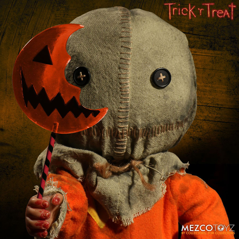 "Mezco Unveils 15"" Mega Scale Trick 'r Treat Sam - Dread ..."