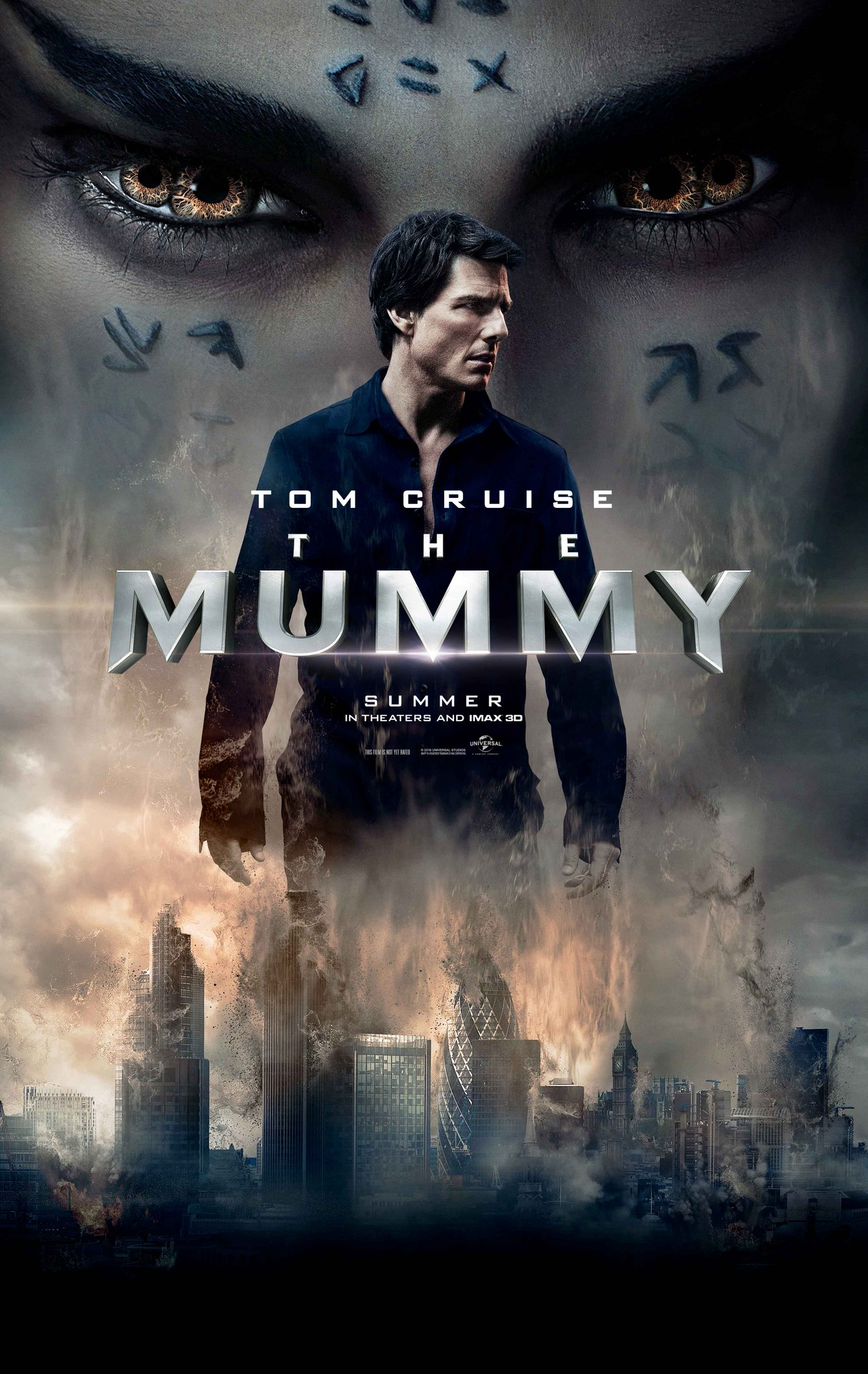 mummyposterwithtomcruise - The Mummy - New Video Featurette and Massive Image Gallery