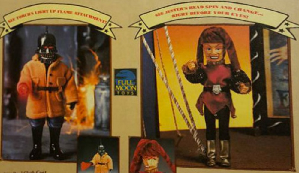 Puppet Master action figures - Torch and Jester