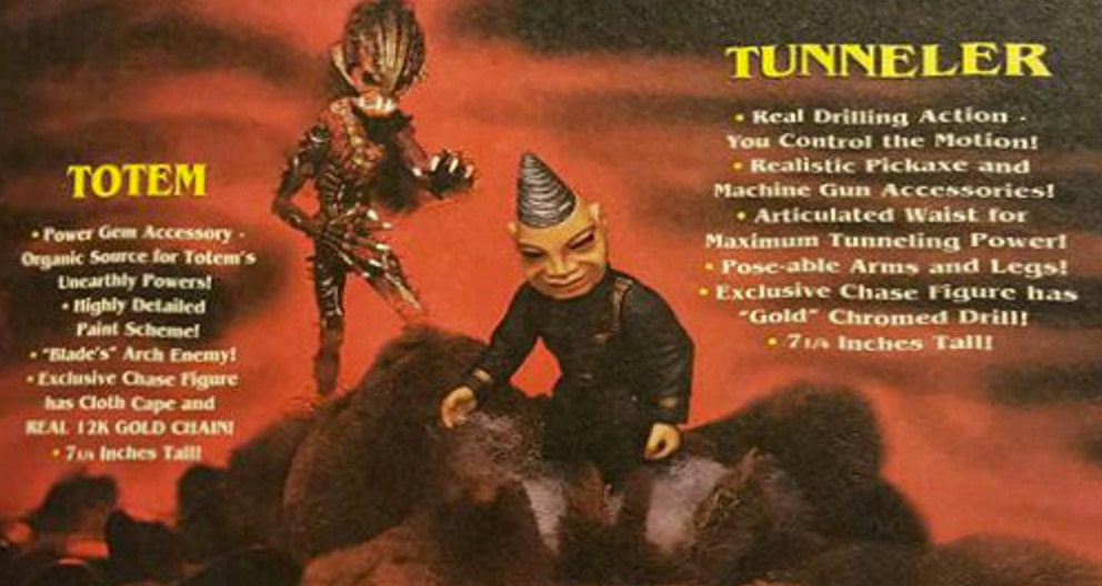 Puppet Master action figures - Tunneler and Totem