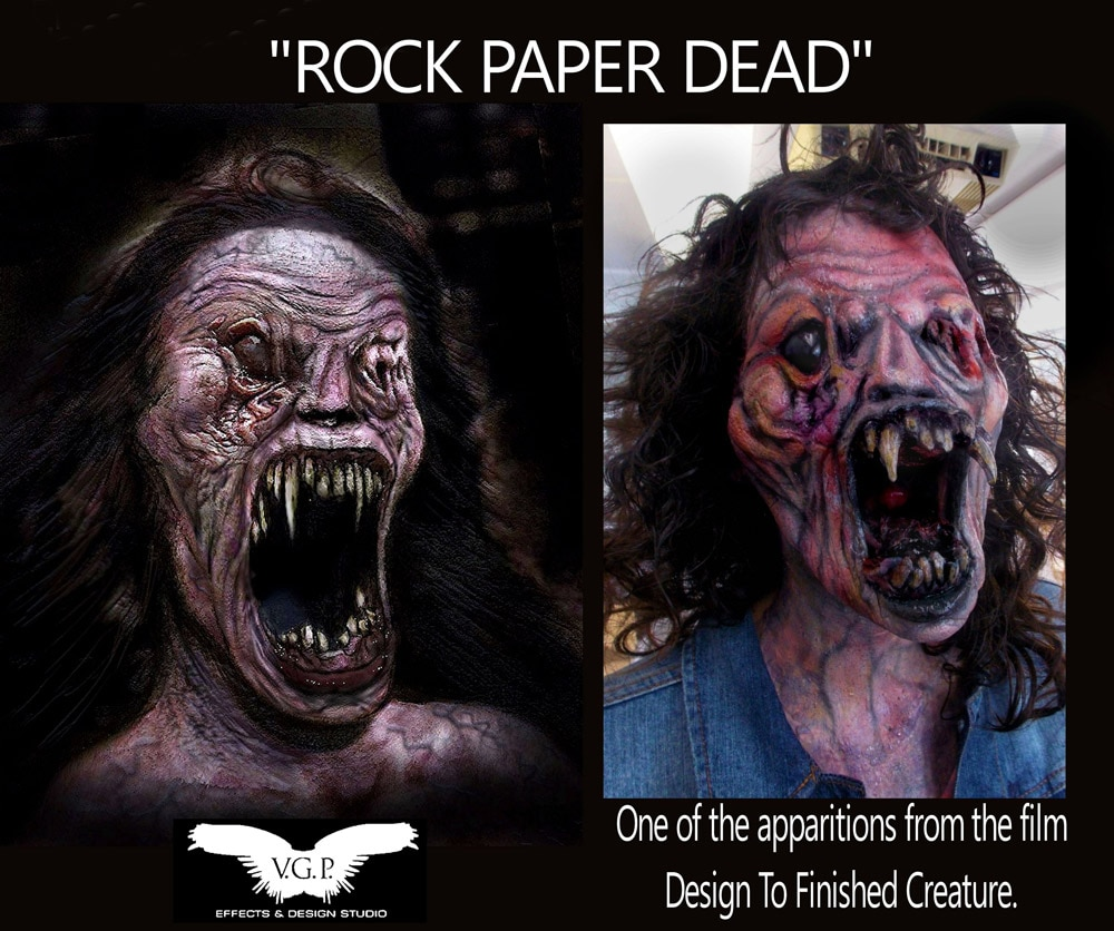 rock paper dead - Exclusive Guest Blog: Vincent Guastini - V.G.P.  Effects & Design Studio New Projects - Aftermath, Dimension 404, and Vincent's Directing Debut of The Dark Tapes