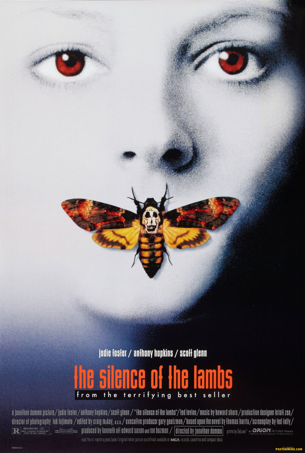 silence of the lambs poster 1024x1521 - How Prestige Award Shows' Dismissal of the Horror Genre Fails Women