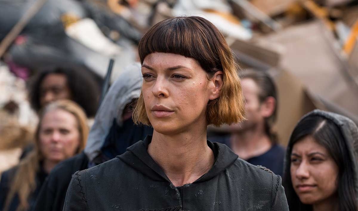 walking dead jadis - Three of the Cast of The Walking Dead Have Been Upgraded to Series Regulars