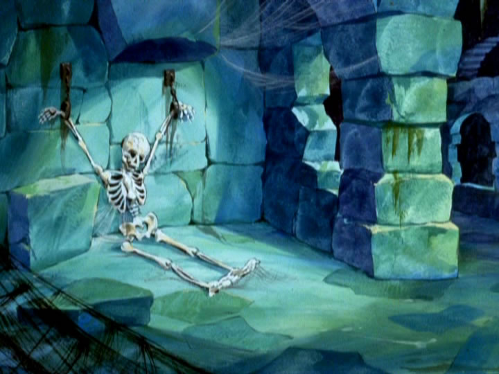 12scoobydoo - The Background Paintings of Scooby Doo Are Delightfully Creepy and Rather Beautiful