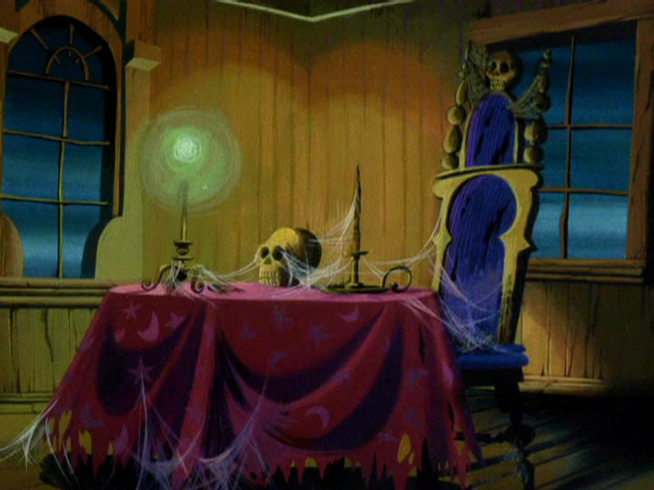 14scoobydoo - The Background Paintings of Scooby Doo Are Delightfully Creepy and Rather Beautiful