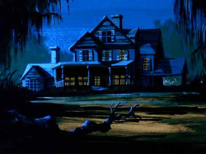 15scoobydoo - The Background Paintings of Scooby Doo Are Delightfully Creepy and Rather Beautiful