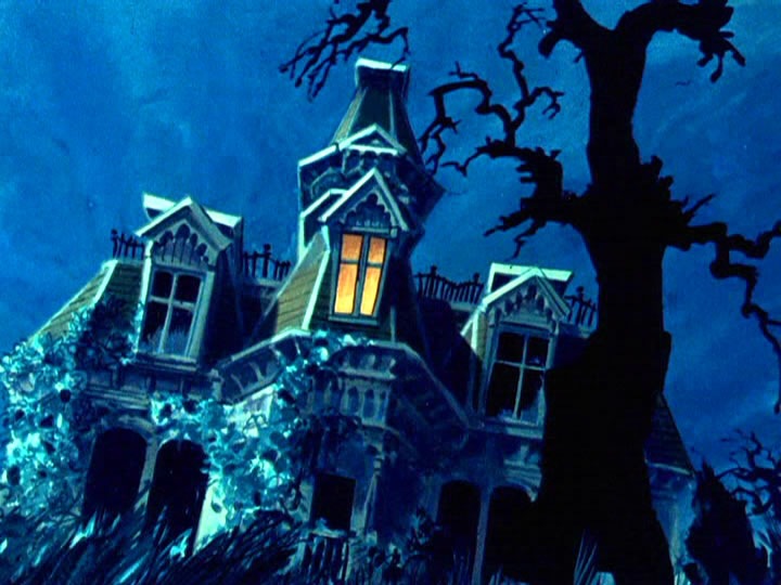 17scoobydoo - The Background Paintings of Scooby Doo Are Delightfully Creepy and Rather Beautiful