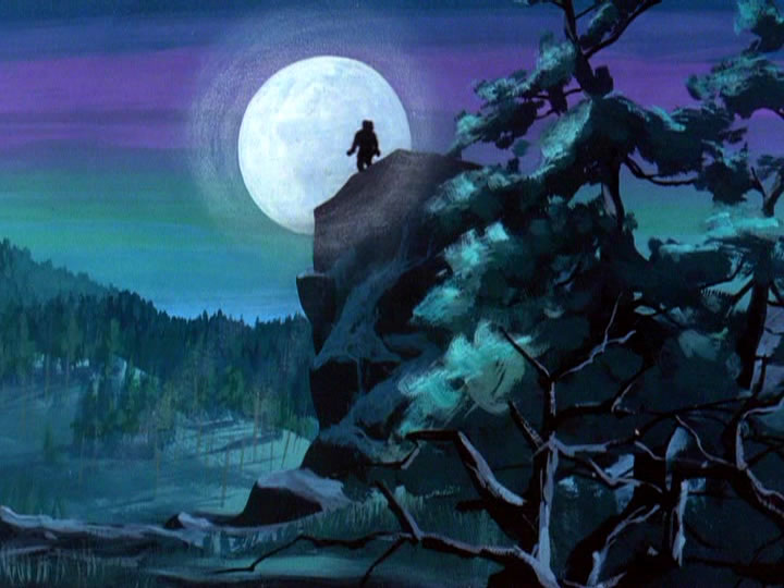 18scoobydoo - The Background Paintings of Scooby Doo Are Delightfully Creepy and Rather Beautiful