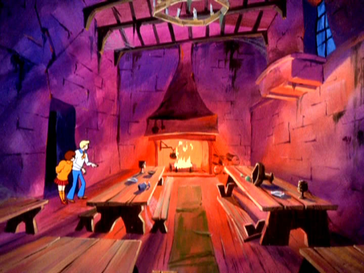 19scoobydoo - The Background Paintings of Scooby Doo Are Delightfully Creepy and Rather Beautiful