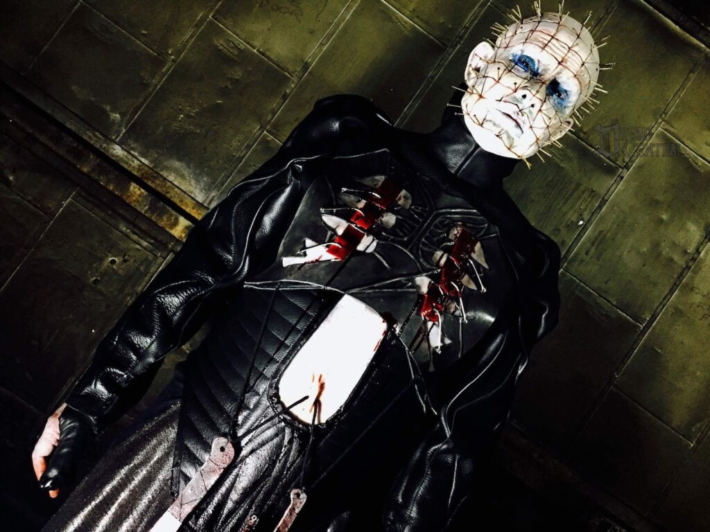 1dougbradleypinhead2017 1024x768 - Exclusive: After 14 Long Years, Behold Doug Bradley as Pinhead Once Again!