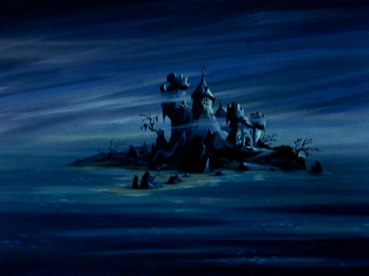 1scoobydoo - The Background Paintings of Scooby Doo Are Delightfully Creepy and Rather Beautiful