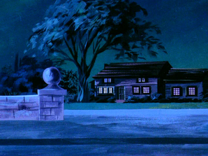20scoobydoo - The Background Paintings of Scooby Doo Are Delightfully Creepy and Rather Beautiful