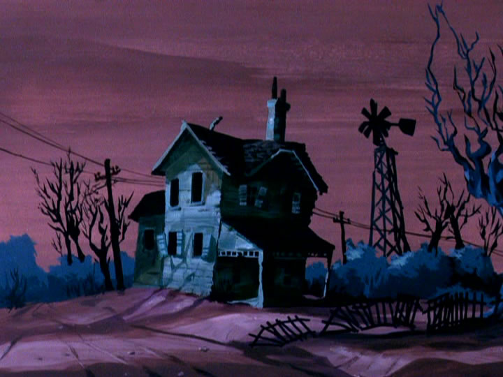 21scoobydoo - The Background Paintings of Scooby Doo Are Delightfully Creepy and Rather Beautiful