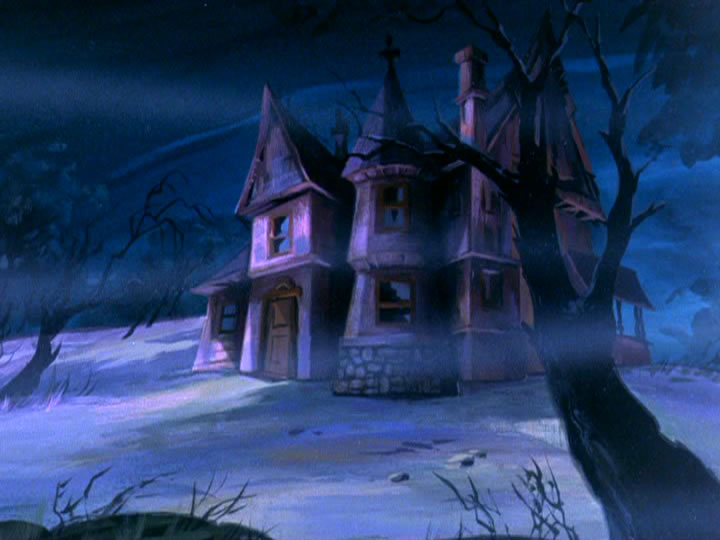 22scoobydoo - The Background Paintings of Scooby Doo Are Delightfully Creepy and Rather Beautiful