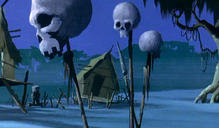 23scoobydoo 720x422 - The Background Paintings of Scooby Doo Are Delightfully Creepy and Rather Beautiful