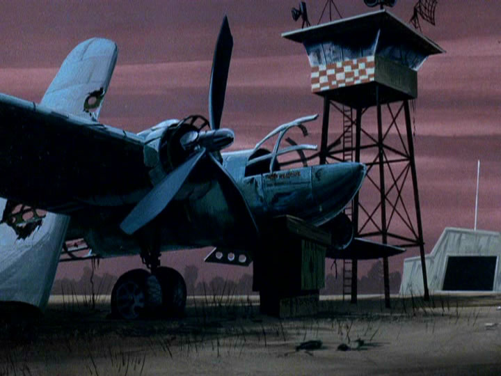24scoobydoo - The Background Paintings of Scooby Doo Are Delightfully Creepy and Rather Beautiful