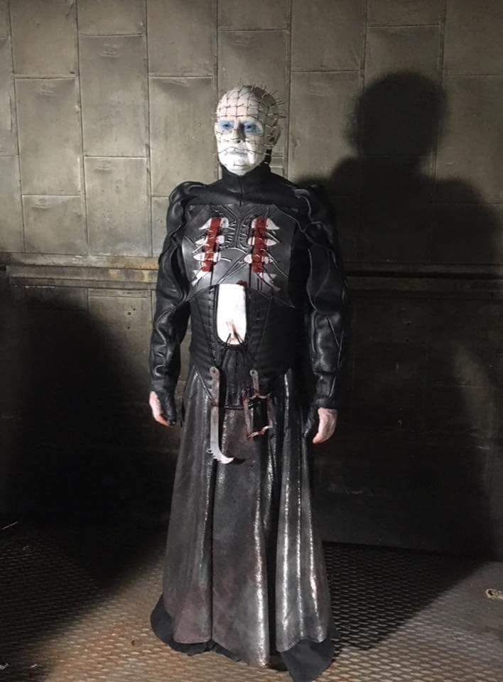 2dougbradleypinhead2017 - Exclusive: After 14 Long Years, Behold Doug Bradley as Pinhead Once Again!