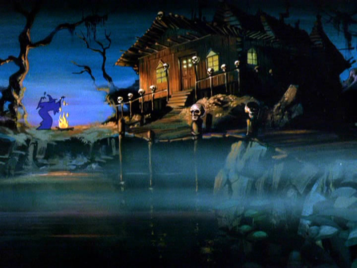 2scoobydoo - The Background Paintings of Scooby Doo Are Delightfully Creepy and Rather Beautiful