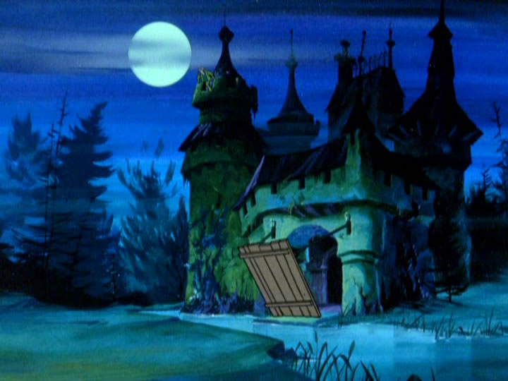 3scoobydoo - The Background Paintings of Scooby Doo Are Delightfully Creepy and Rather Beautiful
