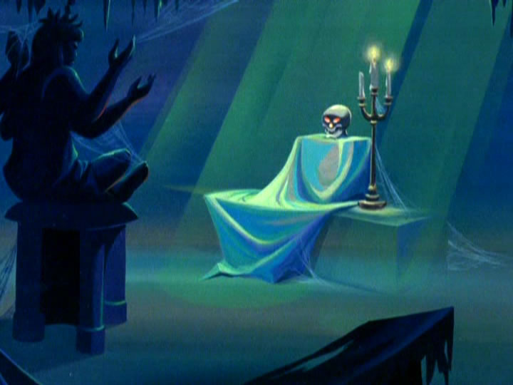 4scoobydoo - The Background Paintings of Scooby Doo Are Delightfully Creepy and Rather Beautiful