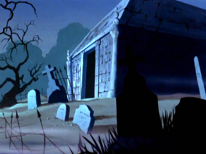5scoobydoo - The Background Paintings of Scooby Doo Are Delightfully Creepy and Rather Beautiful