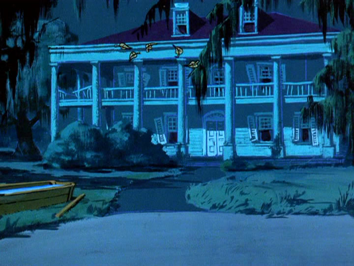 6scoobydoo - The Background Paintings of Scooby Doo Are Delightfully Creepy and Rather Beautiful