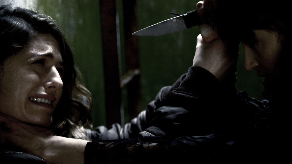 7 Witches Persephone Apostolou Kate Knife - The Cycle Begins When 7 Witches Hits DVD/VOD Next Week